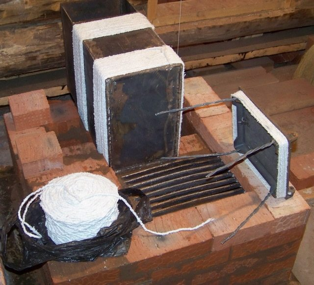 Облицовка камина кирпичом: пошаговая инструкция