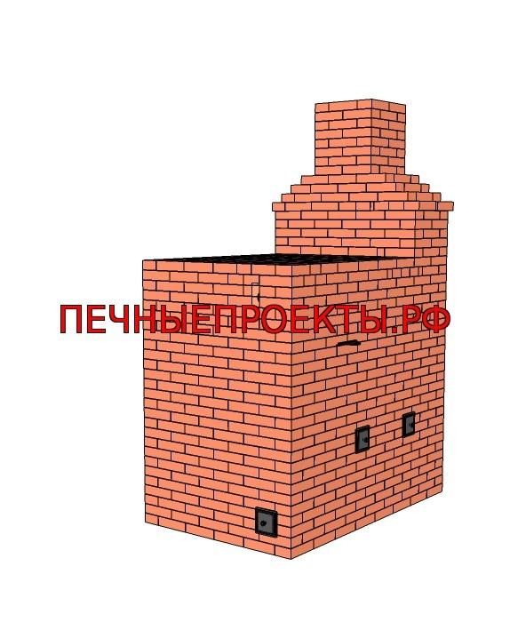 Кладка русской печи: проекты, схема, материалы