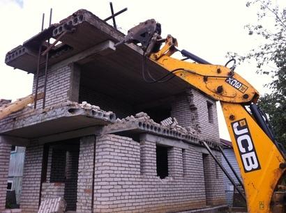 Как сносить кирпичный дом: этапы, способы демонтажа