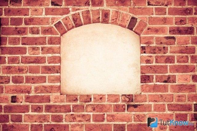 Ниша в кирпичной стене: подготовка к постройке